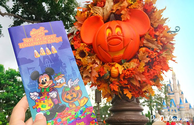 Mickey's Not-So-Scary Halloween Party Map 2017 in the Magic Kingdom!